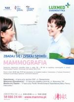 Bezpłatna mammografia w wieku 40-75 lat !
