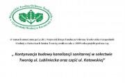 Kontynuacja budowy kanalizacji sanitarnej w sołectwie Tworóg ul. Lubliniecka oraz część ul. Kotowskiej