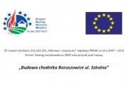 Budowa chodnika Boruszowice ul. Szkolna