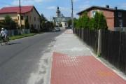 Budowa chodnika ul. Mickiewicza w Tworogu.