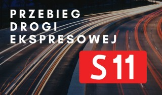 Przebieg drogi ekspresowej S11