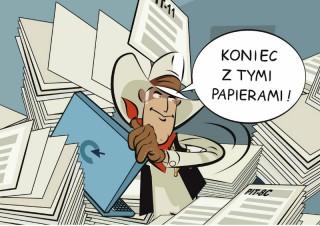 Płatniku - koniec z tymi papierami