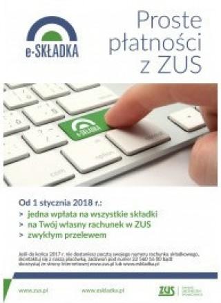 e-Składka – płatności ZUS