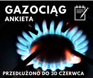 Gazoziąg - przedłużenie terminu składania ankiet
