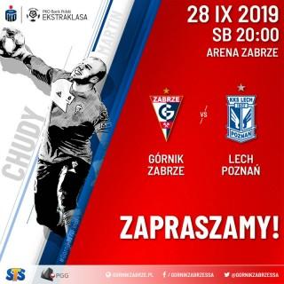 Mecz ligowy Górnik Zabrze - Lech Poznań