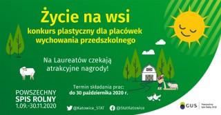 Konkurs plastyczny 'Życie na wsi'