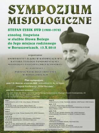 Sympozjum w Boruszowicach