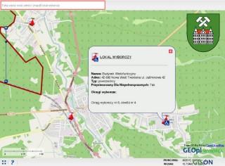 Interaktywna Mapa Wyborów Samorządowych