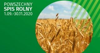 Informacja na temat sposobu realizacji Powszechnego Spisu Rolnego w 2020 roku