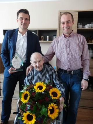 Szanowny Jubilat z Brynka obchodził 100 urodziny
