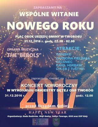 Wspólne witanie Nowego Roku