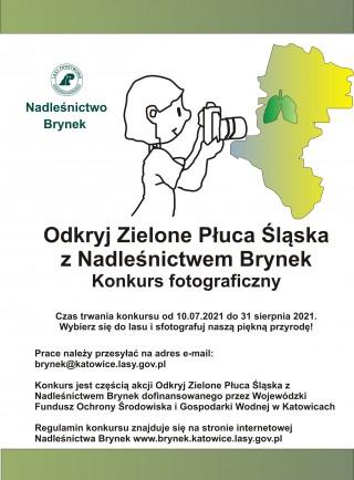 """""""Odkryj Zielone Płuca Śląska"""" - konkurs fotograficzny"""