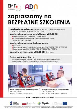 """""""Profesjonalne kadry..."""" - bezpłatne szkolenia komputerowe"""