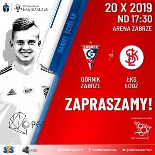 Mecz ligowy Górnik Zabrze - ŁKS Łódź