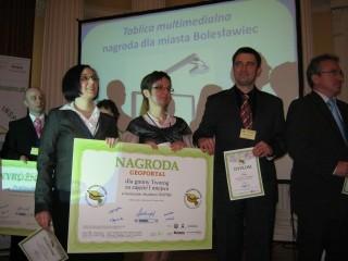 """Nagroda dla Gminy Tworóg w konkursie """"Akademii Inspire"""" odebrana !"""