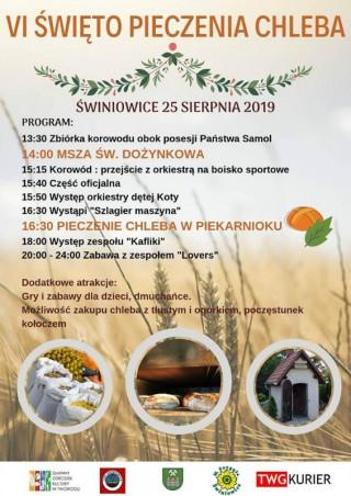 VI Święto Pieczenia Chleba - 25.08.2019