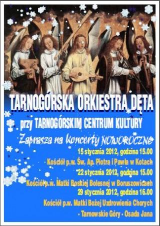 Zapraszamy na noworoczne koncerty