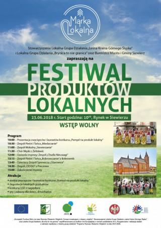 Zapraszamy na Festiwal Produktów Lokalnych!