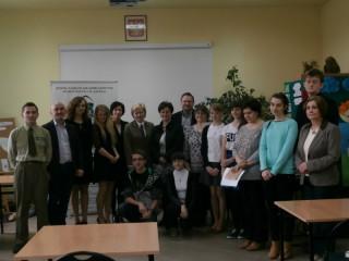 """Gimnazjum w Brynku w """"Konkursie Wiedzy Przyrodniczej"""""""