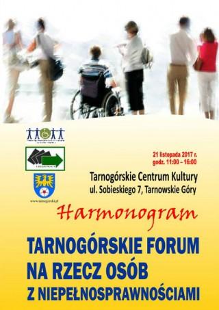 Tarnogórskie Forum na rzecz osób z niepełnosprawnościami
