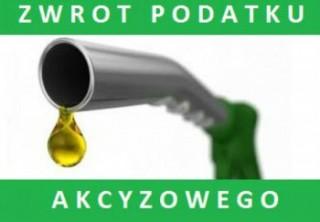 Zwrot podatku akcyzowego zawartego w cenie oleju napędowego w 2019 roku - zmiany