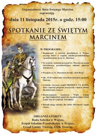 """""""Spotkanie ze Św. Marcinem"""""""