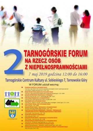 2 Tarnogórskie Forum na Rzecz Osób z Niepełnosprawnościami
