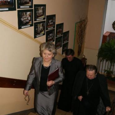 Dzień Babci i Dziadka z udziałem biskupa Gerarda Kusza - galeria - foto : Ryszard Królicki