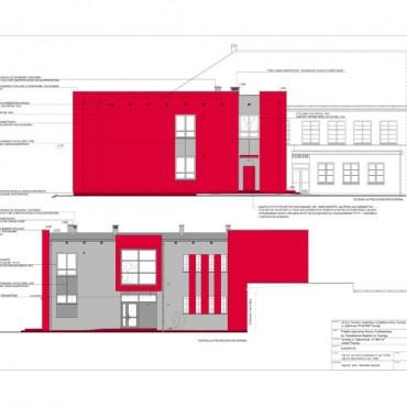 Szkoła Podstawowa w Tworogu - rozbudowa (galeria)