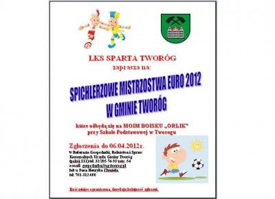 Spichlerzowe Mistrzostwa Euro 2012 w Gminie Tworóg